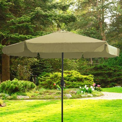 large patio umbrella 9 ft tent deck gazebo sun