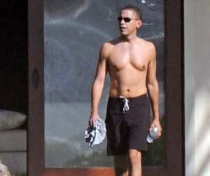 workout compare  president obama