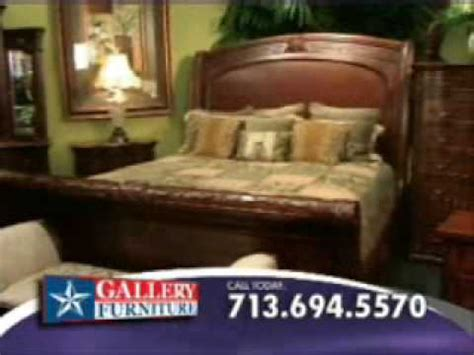 gallery furniture bedroom furniture commercial youtube