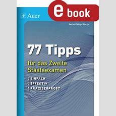 77 Tipps Für Das Zweite Staatsexamen Unterrichtsmaterial
