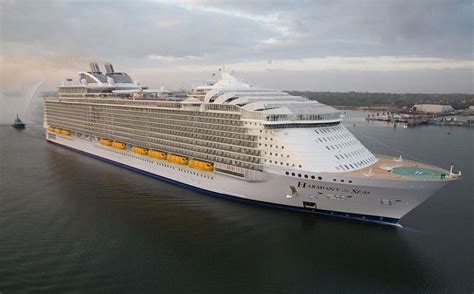 PHOTOS Harmony Of The Seas - The Largest Cruise Ship Ever ...