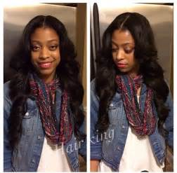 Middle Part Sew Ins