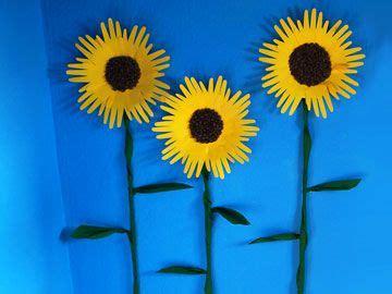 basteln sommer grundschule sonnenblumen kindergarten bastelei sonnenblumen sonnenblume basteln und blumen