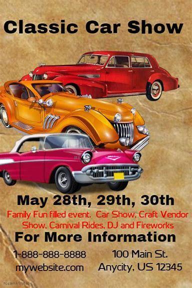 image result  printable car show flyers event flyer