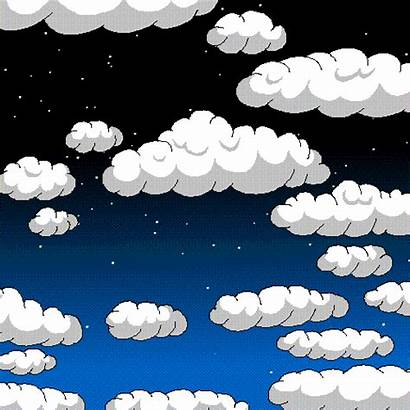 Clouds Moving Animated