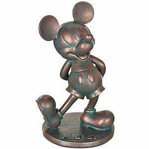 Your wdw store disney garden statue flower and garden for Mickey mouse garden statue