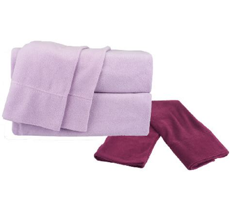 malden mills polar fleece ck sheet set w extra contrast