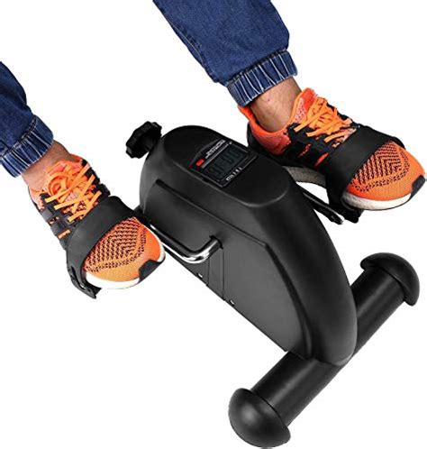 Portable Exercise Bike Pedals Stable Mini Floor Foot Pedal ...