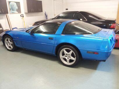 auto air conditioning service 1993 chevrolet corvette parking system sell used 1991 1992 1993 chevrolet corvette c4i l98 quasar blue black 6 speed manual shift in