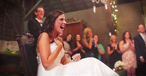 This Bride Thought She Was The Only One With A Surprise