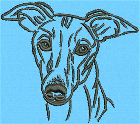 whippet lover gifts  vodmochka graffix embroidery designers