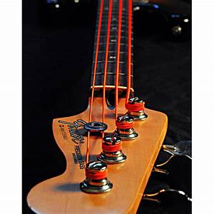 DR Neon Orange Medium 5 Electric Bass Strings