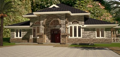 david chola architect arched  bedroom bungalow