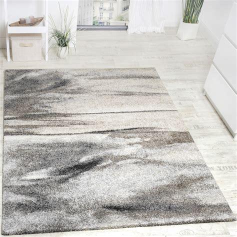 teppich in grau teppich meliert modern webteppich wohnzimmerteppich