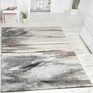 Wohnzimmer Teppich Grau : teppich meliert modern webteppich wohnzimmerteppich hochwertig in grau beige teppiche kurzflor ~ Indierocktalk.com Haus und Dekorationen