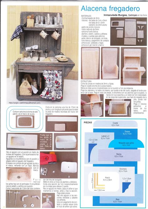 cuisine miniature dollhouse tutorials dollhouse kitchens magazine