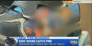 Exclusive: Good Morning America blurs out flaming toddler shoe to hide Disney cartoon characters ...