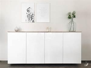 Ikea Hack Sideboard : ikea hack metod k chenschrank als sideboard elfenweiss ~ A.2002-acura-tl-radio.info Haus und Dekorationen
