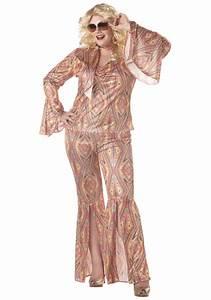 Plus Size 70s Disco Costume - Adult 1970s Halloween Costumes