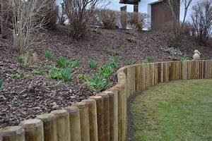 Holz Im Garten : rundholz rembart holz im garten ~ Frokenaadalensverden.com Haus und Dekorationen