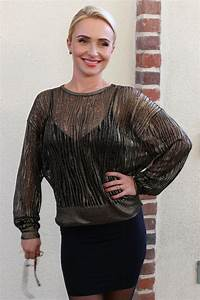 HAYDEN PANETTIERE at Nashville Press Conference in West ...