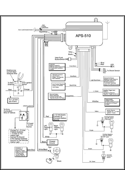 Karr Auto Alarm Wire Diagram by Viper Alarm Wiring Diagram Electrical Website Kanri Info