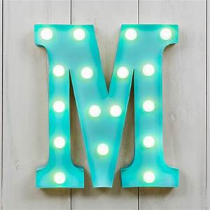 vegas metal led circus letter light all things brighton With letter m light