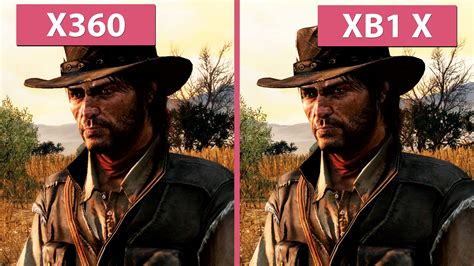 Red Dead Redemption In 4k  Xbox 360 Gegen Xbox One X Mit