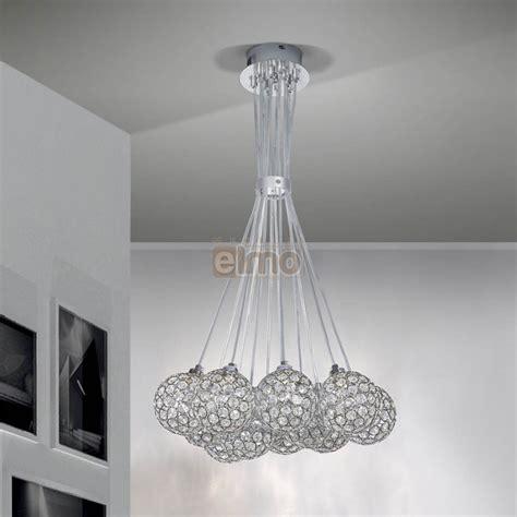 meubles haut de cuisine pas cher lustre moderne suspension métal et cristal