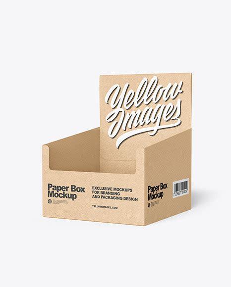 Mockup of pizza box 19 августа 2020, 01:30. Kraft Paper Display Box with Boxes Mockup in Box Mockups ...