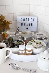 An, Elegant, Kitchen, Coffee, Bar, Idea, For, Fall