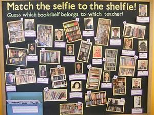 Competition: Match the selfie to the shelfie! HPPC Library