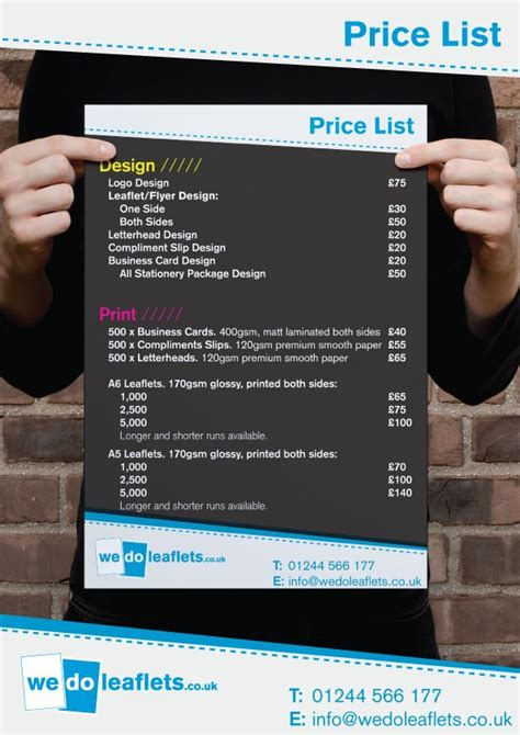 graphic designer price list google search freelance