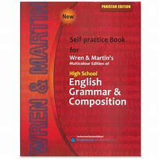 Self Practice Book For Wren & Martin's English Grammar & Composition 2016  Cbpbook Pakistan's