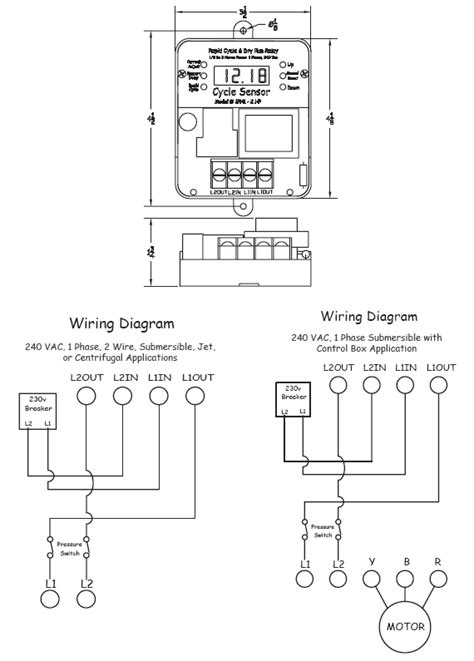 Cycle Sensor Pump Monitor Wiring Diagram
