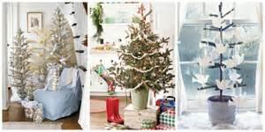 mini christmas trees ideas for decorating tiny christmas trees