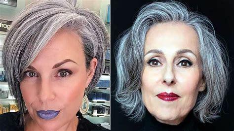 Elegant Short Haircuts For Older Women Over 50 Short