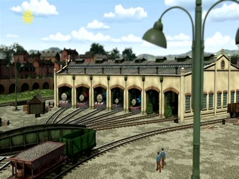 The Tidmouth Shed by Tidmouth Sheds Pooh S Adventures Wiki