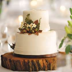 rustic wedding cakes rustic wedding cake with acorns wedding cakes photos brides
