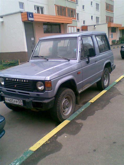 1986 Mitsubishi Montero Pictures, 2200cc., Gasoline