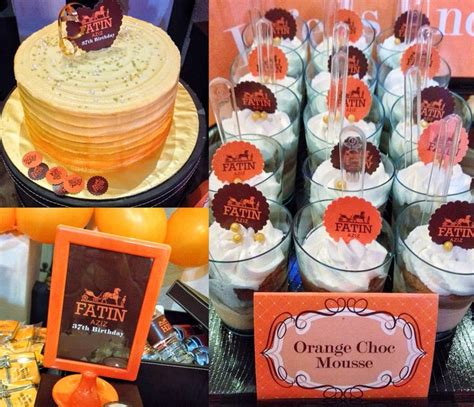 desserts by herme hermes themed fashion dessert table bar fashion themed