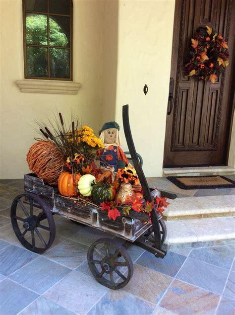 The 25+ Best Fall Wagon Decor Ideas On Pinterest Fall