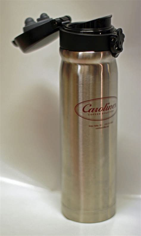 Peets coffee menu includes their famous varieties of coffee, espresso drinks, caffeine free drinks and bakery items. Carolines Stainless Bottle | Caroline's Coffee