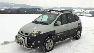Scenic Rx4  Snow Drift    Wiejski Drift 2013 Part Ii
