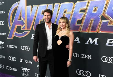 Miley Cyrus Embarrassed Liam Hemsworth At 'Avengers ...