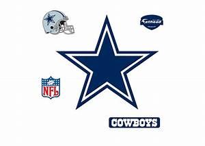 Dallas Cowboys Logo Wall Decal Shop Fathead® for Dallas