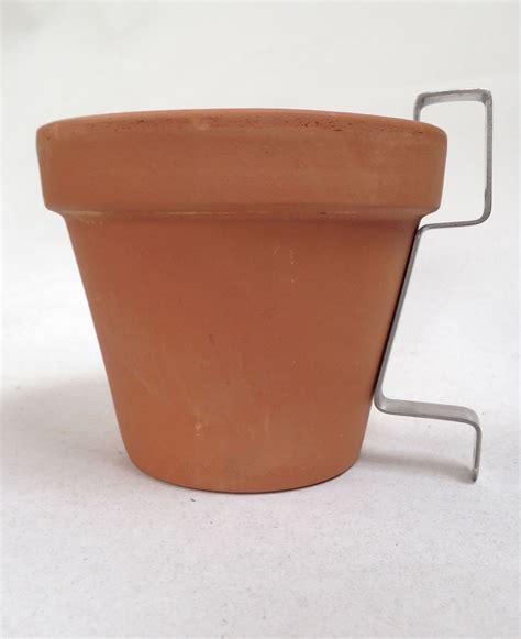 nutleys terracotta plant pots  hanging wall