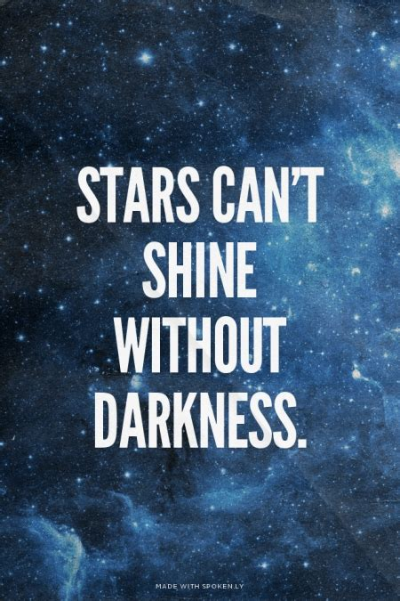 stars  shine  darkness