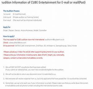 CUBE ENTERTAINMENT REALIZARÁ AUDIÇÕES MUNDIAIS - Koreia In
