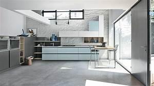 Cucina con colonne basse Caretta Design